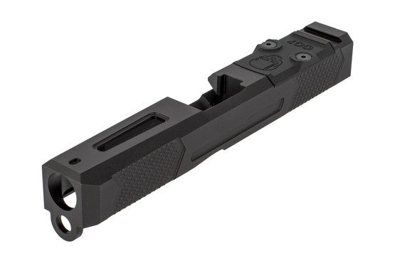 Grey Ghost Precision V4 slide for the Gen 3 Glock 19 features a bulled nose for smooth holstering.
