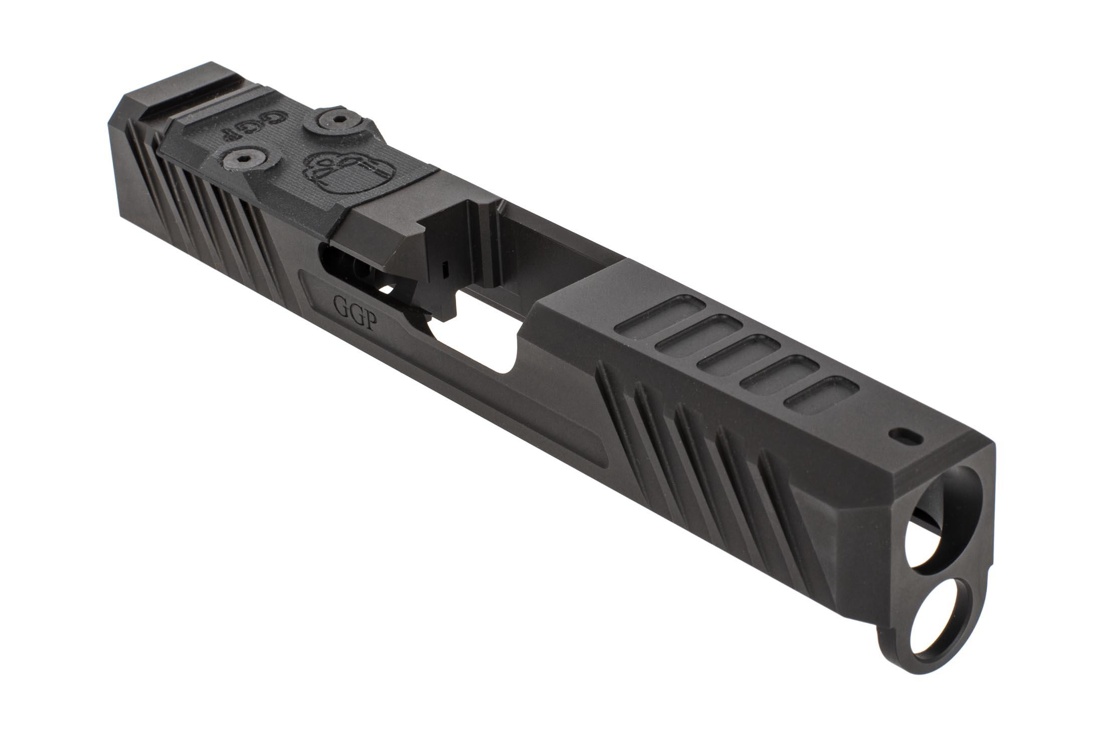 Grey Ghost Precision Glock 19 Gen4 V3 Slide - Stripped - DeltaPoint Pro/RMR  Dual Optic Cut