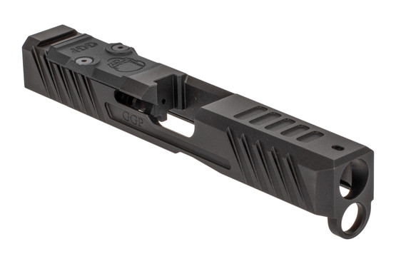 Grey Ghost Precision V3 Glock 19 Gen 5 Slide features the dual optic cut