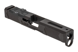 Grey Ghost Precision V4 Glock 19 Gen 5 Slide features the dual optic cut for red dot sights