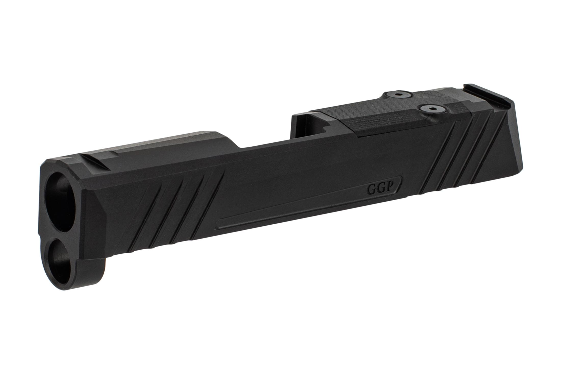 GGP365 Slide features aggressive front and rear slide serrations