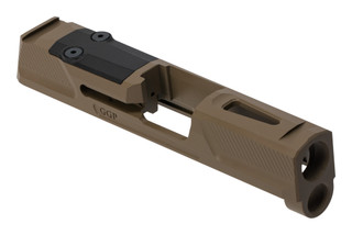 Grey Ghost Precision SIG P365 V2 Slide features a flat dark earth Cerakote finish