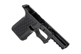 Grey Ghost Precision Compact Combat Pistol Frame in black is an aggressive designed stripped frame for your next handgun build.