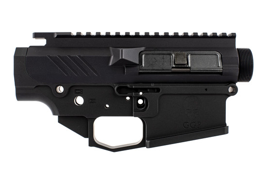 The GGP-S Billet AR10 Receiver Set is milled to DPMS High profile dimensions