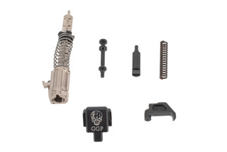 Grey Ghost Precision P320 Slide Completion Kit features stainless steel and aluminum internal small parts