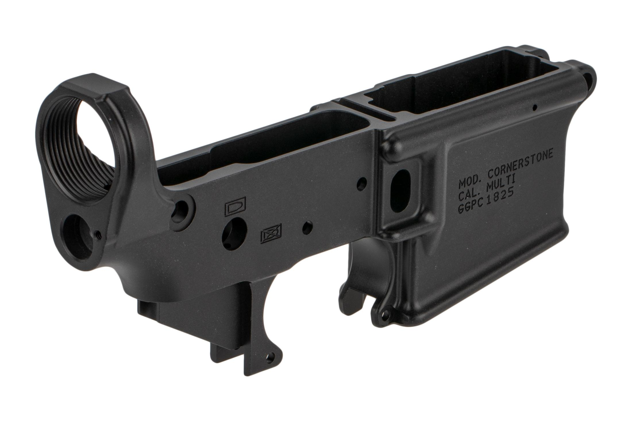 Grey Ghost Precision 7075-T6 aluminum forged lower receiver is machined to 0.001 tolerances for exceptional precision