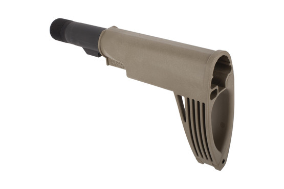 Gear Head Works Mod.2 Tailhook pistol brace in FDE includes proprietary buffer tube, castle nut, and end plate