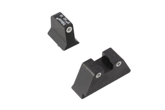 Trijicon Bright & Tough suppressor height sights for Glock handguns with green front and orange rear tritum illumination