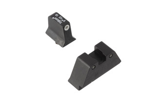 Trijicon Bright & Tough suppressor height sights for Glock handguns with green front and black / green rear tritium illumination
