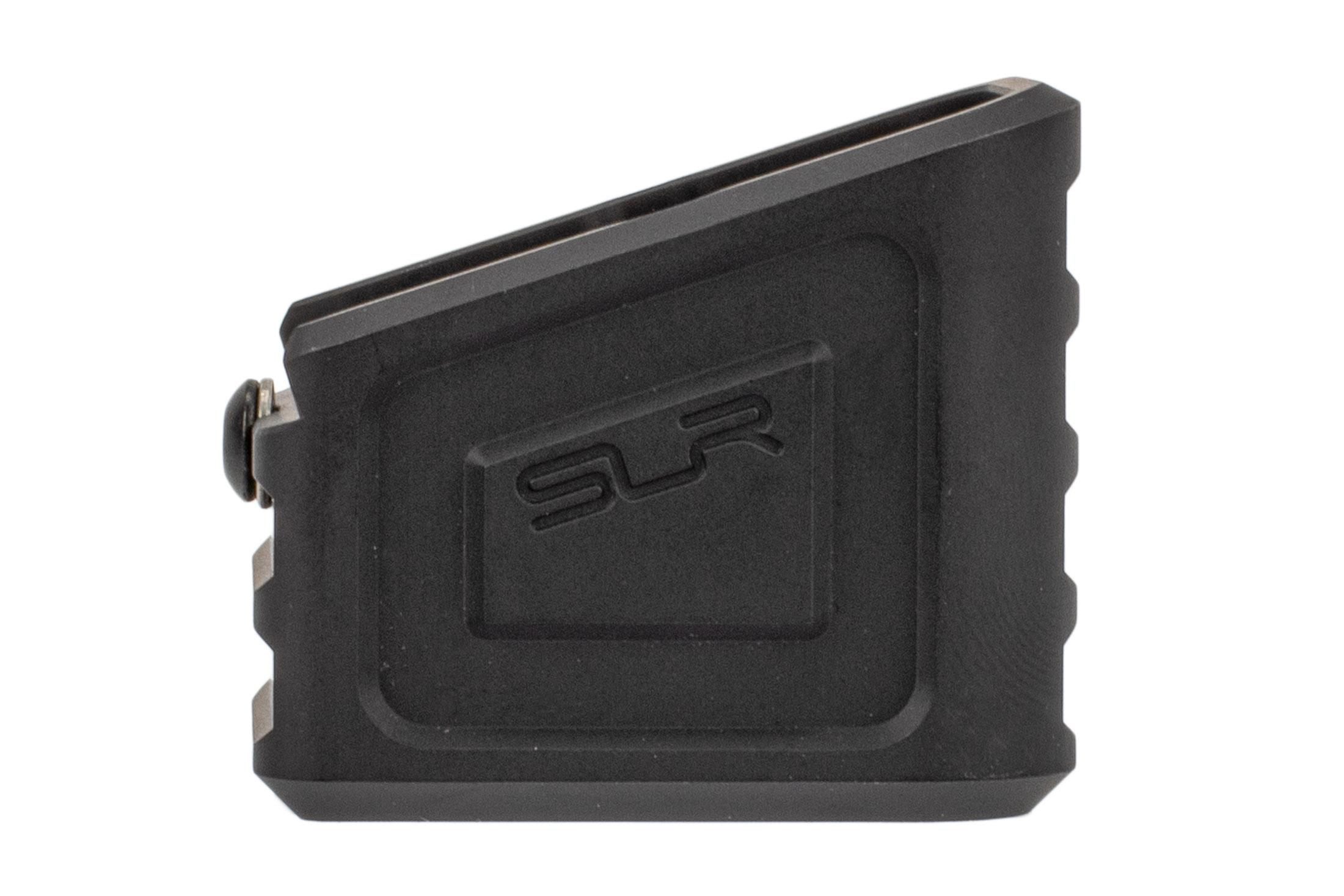 SLR Rifleworks magazine extension fits Glock 21 magazines from Glock or ETS. +4 capacity, spring sold seperately.