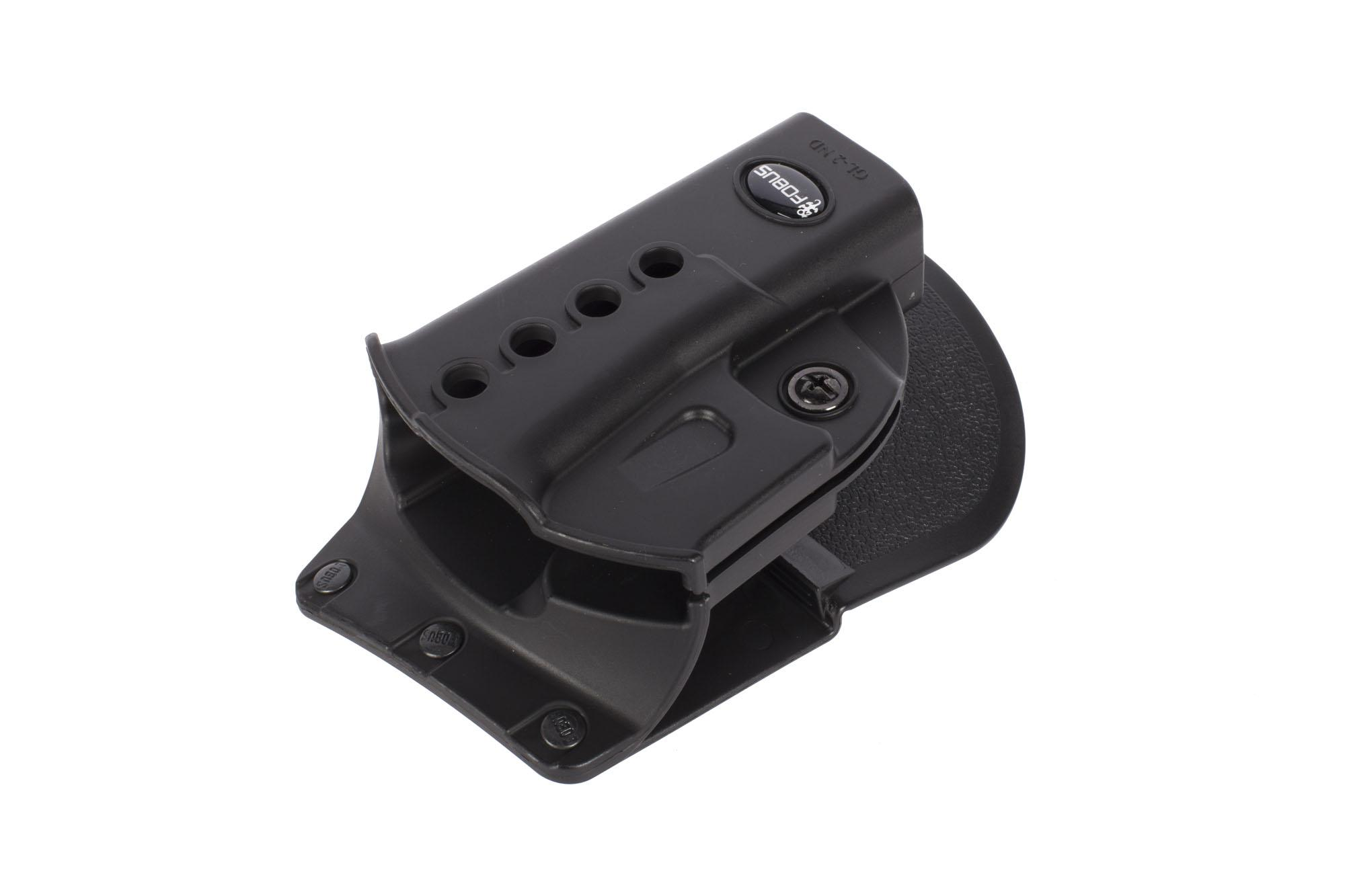 Fobus Evolution Paddle Holster - GLOCK 17/19/22/23/31/32/34/35 - Right Hand - Black
