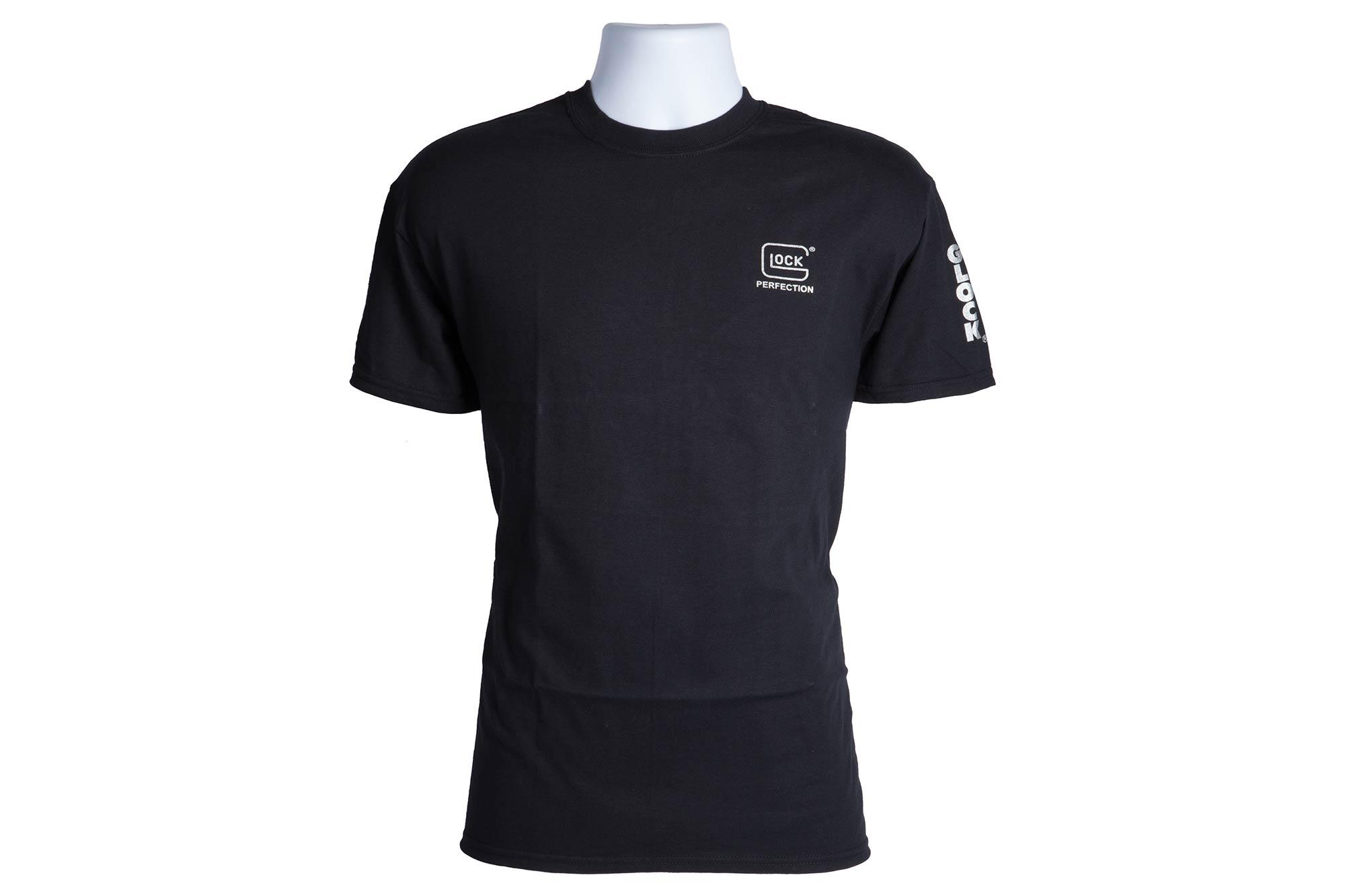 Black t shirt xl - Glock Perfection T Shirt Black Xl