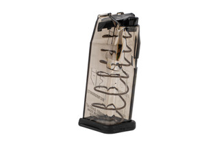 Elite Tactical Systems Glock G20 10mm magazine holds 10-rounds of ammunition.
