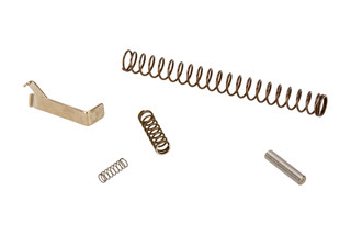 The Taran Tactical Glock 43 Grand Master Connector Kit comes with a trigger return spring