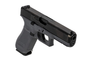 Glock 17 Gen 5 9mm Handgun features a grey polymer frame