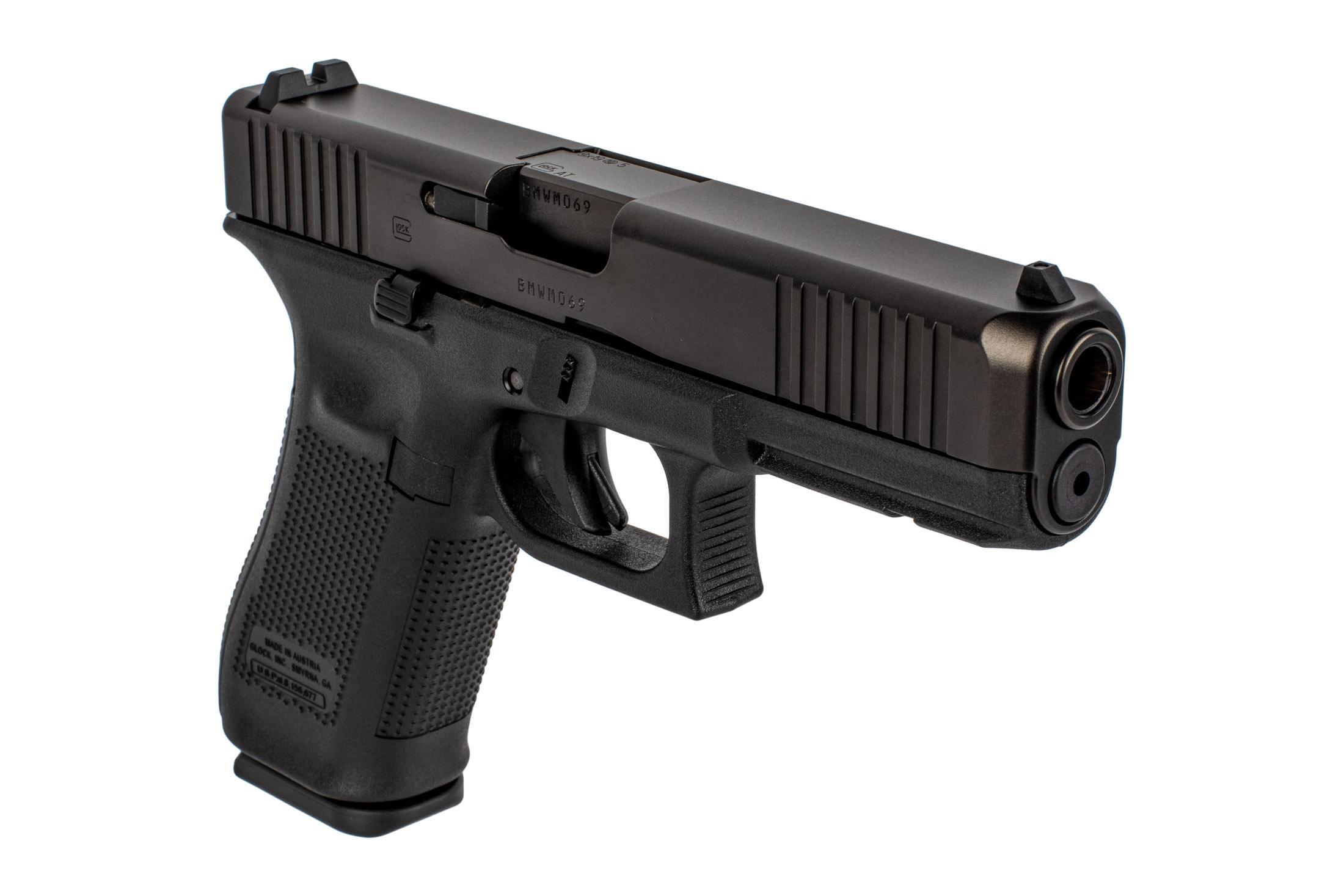 Glock 17 Gen 5 9mm Full Size Pistol 17 Round - Front Slide ...