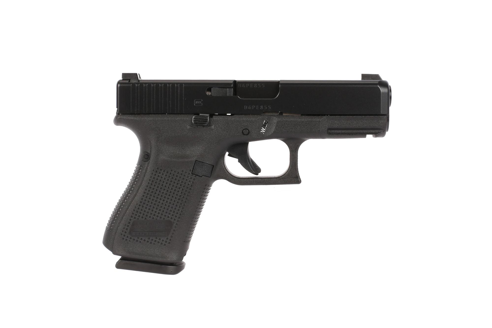 GLOCK G19 Gen5 9mm Compact Pistol - 15-Round - Night Sights