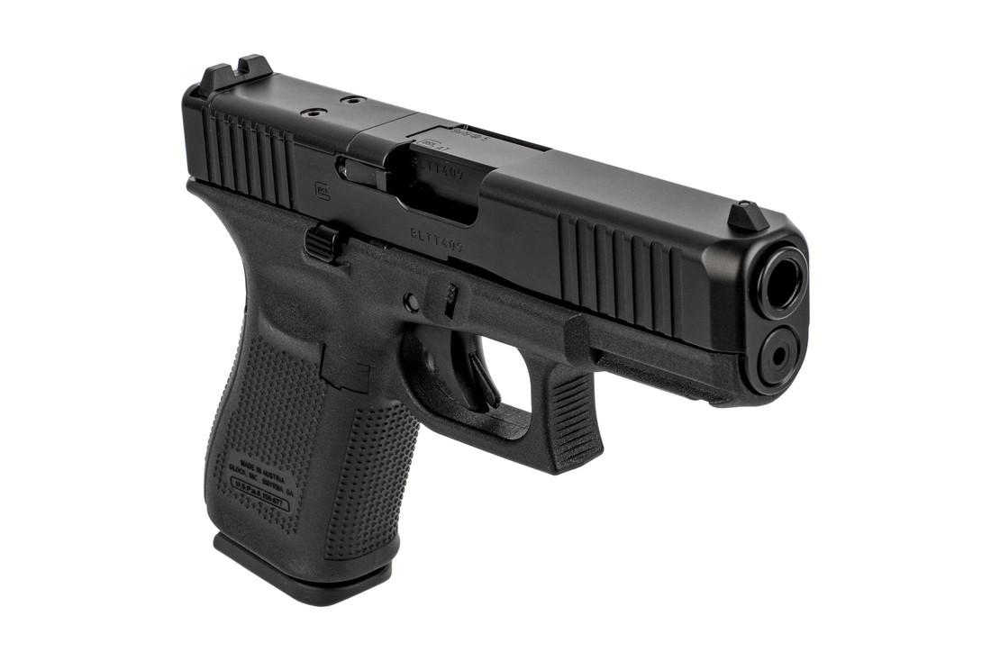 Glock Blue Label 19 GEN 5 9mm Fixed Sights 15RD - Black