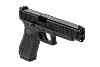 Glock G34 MOS Gen 5 pistol features a long slide and is ready for competition