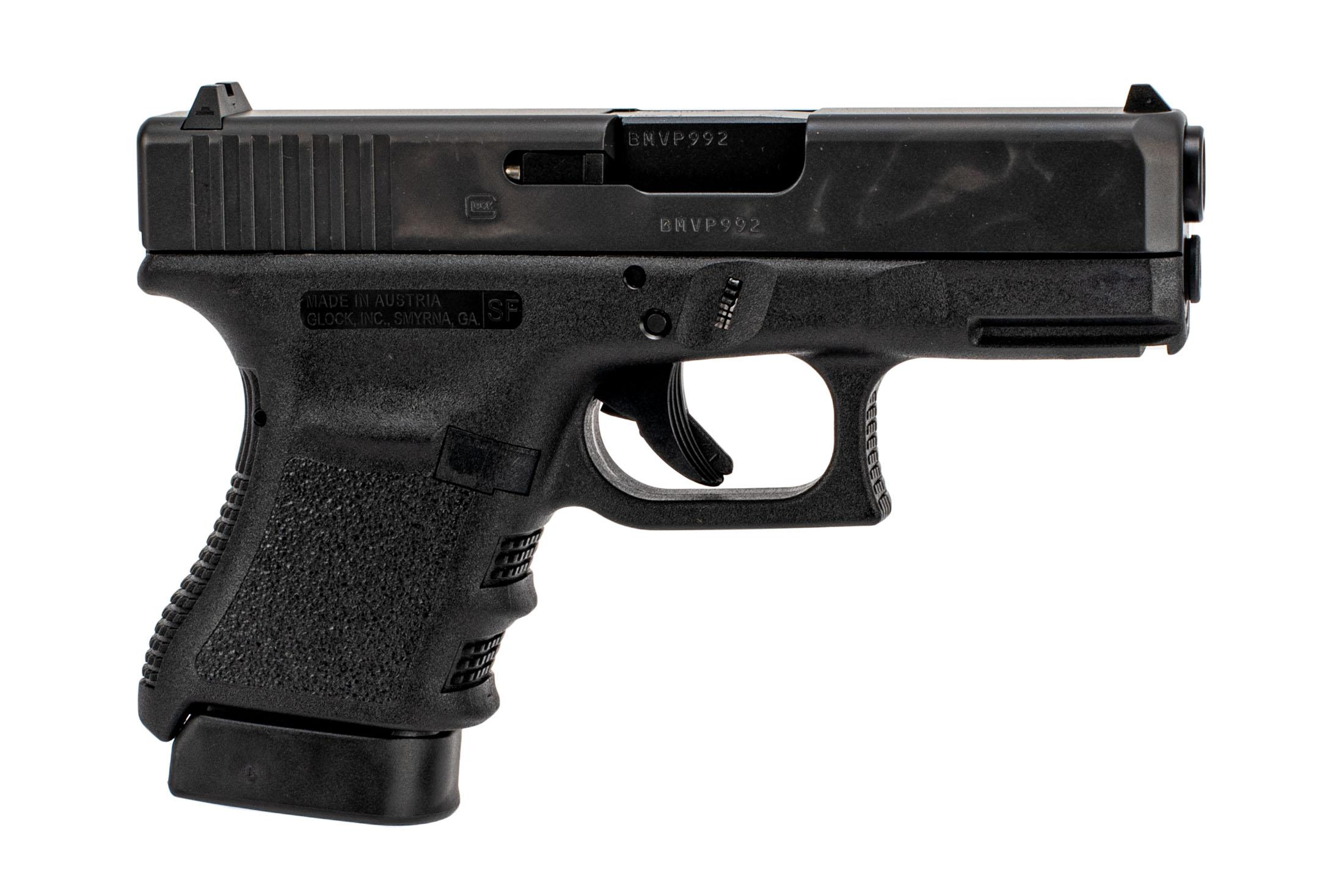 Glock G30s sub-compact .45 ACP pistol with 10-round magazines