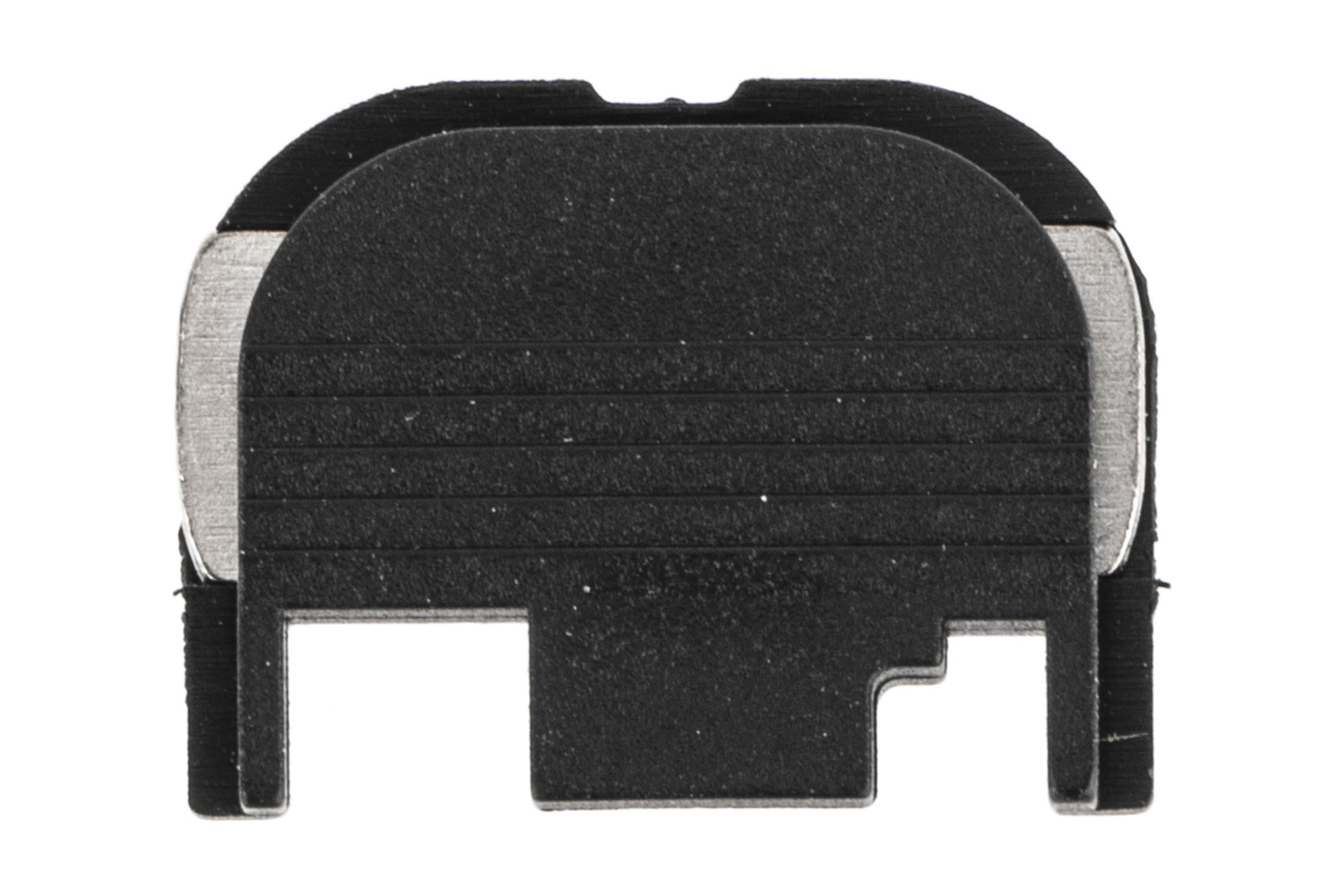 Glock OEM slide cover plate is a Glock factory original part for all Gen 1 through Gen4 glocks. Not compatible with G42/43