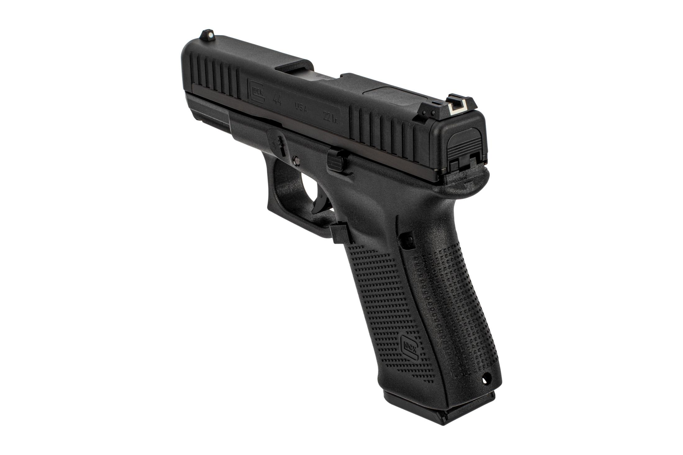 Glock 44 Magnum pistol features a G19 compact sized polymer frame