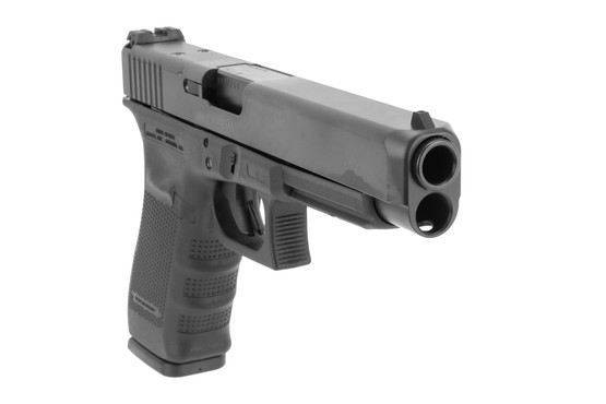 Glock .45 ACP G41 MOS competition pistol with optics ready slide and Gen 4 frame