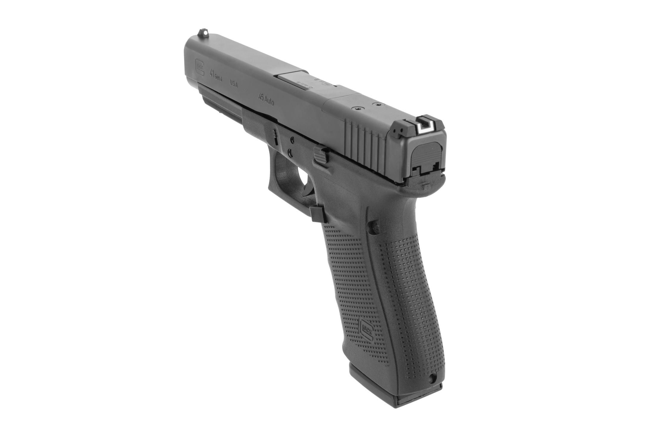 Glock G41 Gen 4 MOS competition handgun with 5.31 .45 ACP barrel includes 13-round magazines