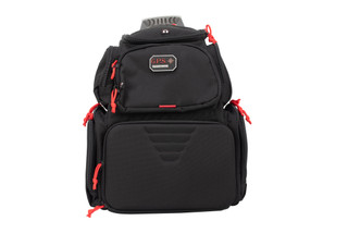 G Outdoors GPS Range Backpack comes in black