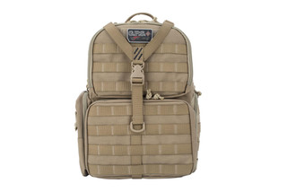 G Outdoors GPS Tactical Backpack comes in tan