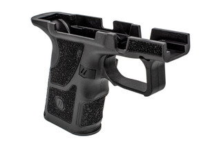 Zev Tech OZ9c compact grip kit is made from black polymer