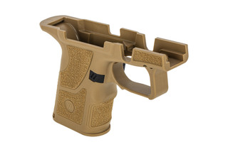 Zev Tech OZ9 Compact Grip Kit is made from flat dark earth polymer