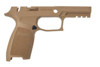 SIG Sauer P320 Grip Assembly is designed for trigger groups with manual safety