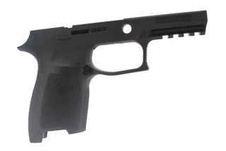 Sig Sauer large compact grip module for P250 / P320 pistols provides an ergonomic grip in a durable polymer frame