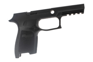 Sig Sauer P250 / P320 medium compact grip module provides an ergonomic grip in a durable polymer frame