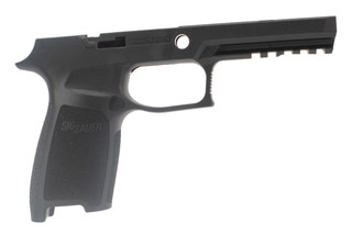Sig Sauer medium compact grip shell for P250 / P320 9mm .40 .357 offers an ergonomic grip in a durable polymer frame
