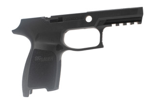 Sig Sauer small compact grip shell for P250 / P320 9mm .40 .357 offers an ergonomic grip in a durable polymer frame