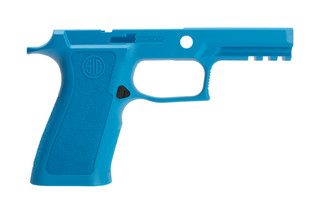 P250 / P320 x-series 9mm medium blue carry grip from Sig Sauer is constructed from a high-quality, durable polymer