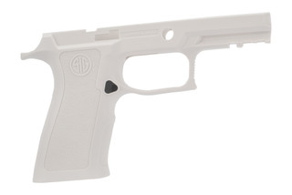 Sig Sauer medium carry white grip shell for P250 / P320 x-series 9mm offers an ergonomic grip in a durable polymer frame