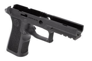 SIG Sauer P320 Grip Module Comes In black and features an improved profile