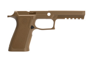 SIG Sauer P320 X-Series Grip Frame comes in Coyote Brown