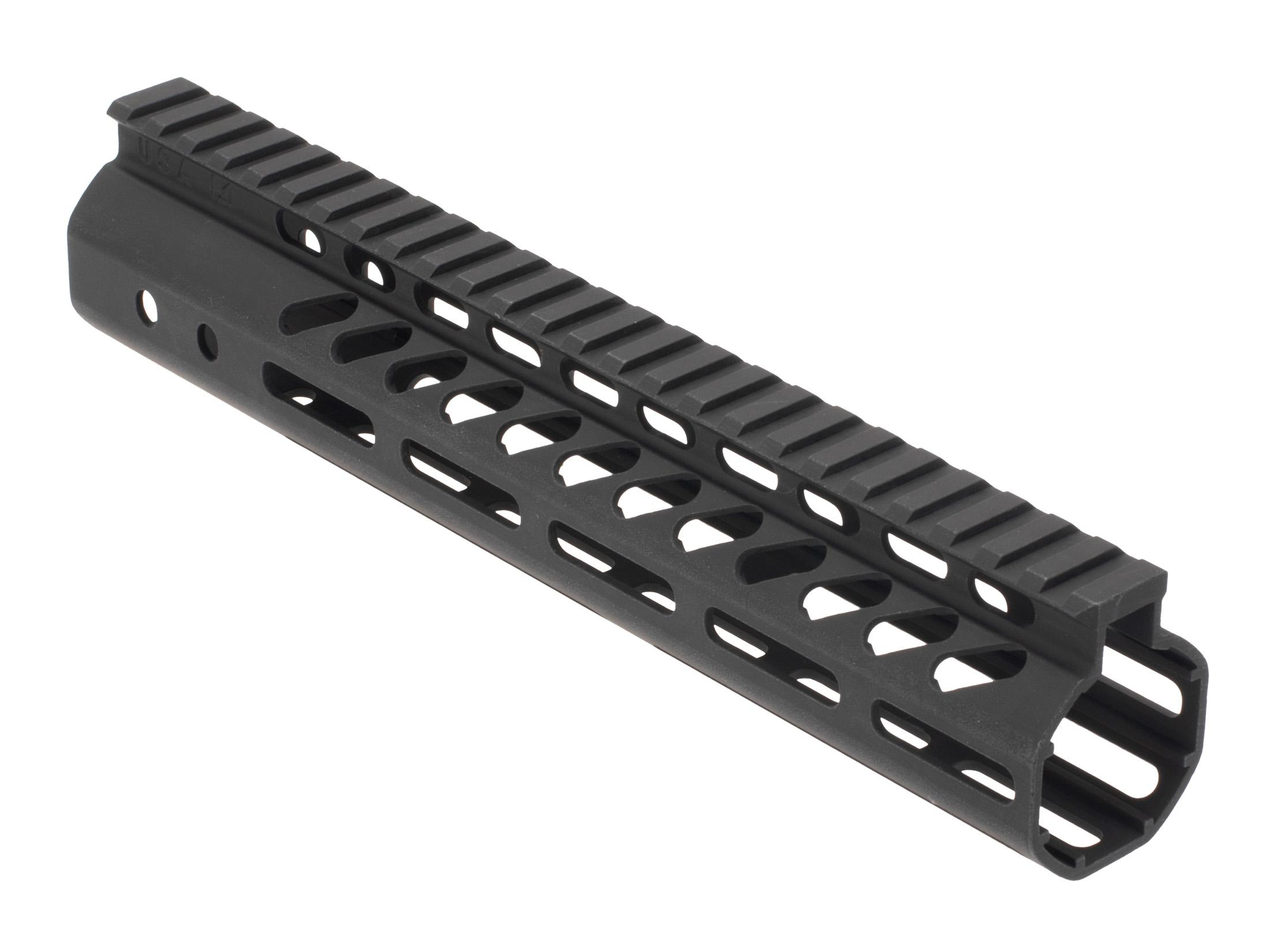 Guntec USA Ultra Lightweight M-LOK Free Float .308 Handguard Black - 10