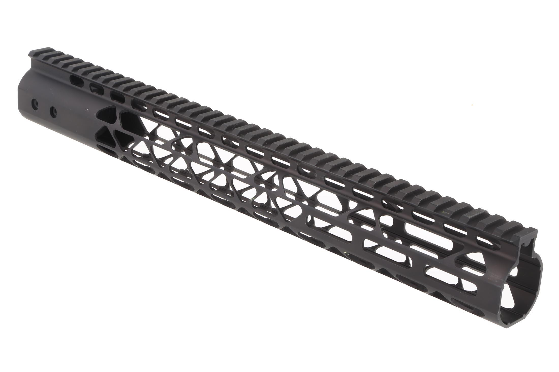 Guntec USA 15in Air Lite Handguard - M-LOK - Black