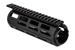 Guntec USA drop-in handguard for carbine-length AR-15 or AR10 features M-LOK mounting and a full length top rail.