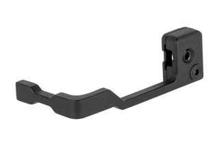 The Guntec USA Extended AR15 bolt release features an ambidextrous design and attaches directly to Mil-Spec bolt catches