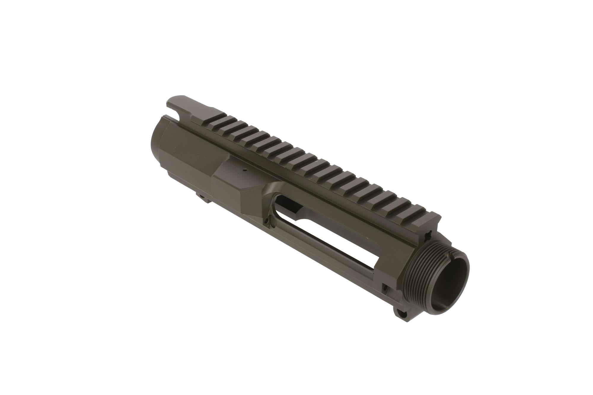Guntec USA AR10 Stripped Billet Upper Receiver Olive Drab Green