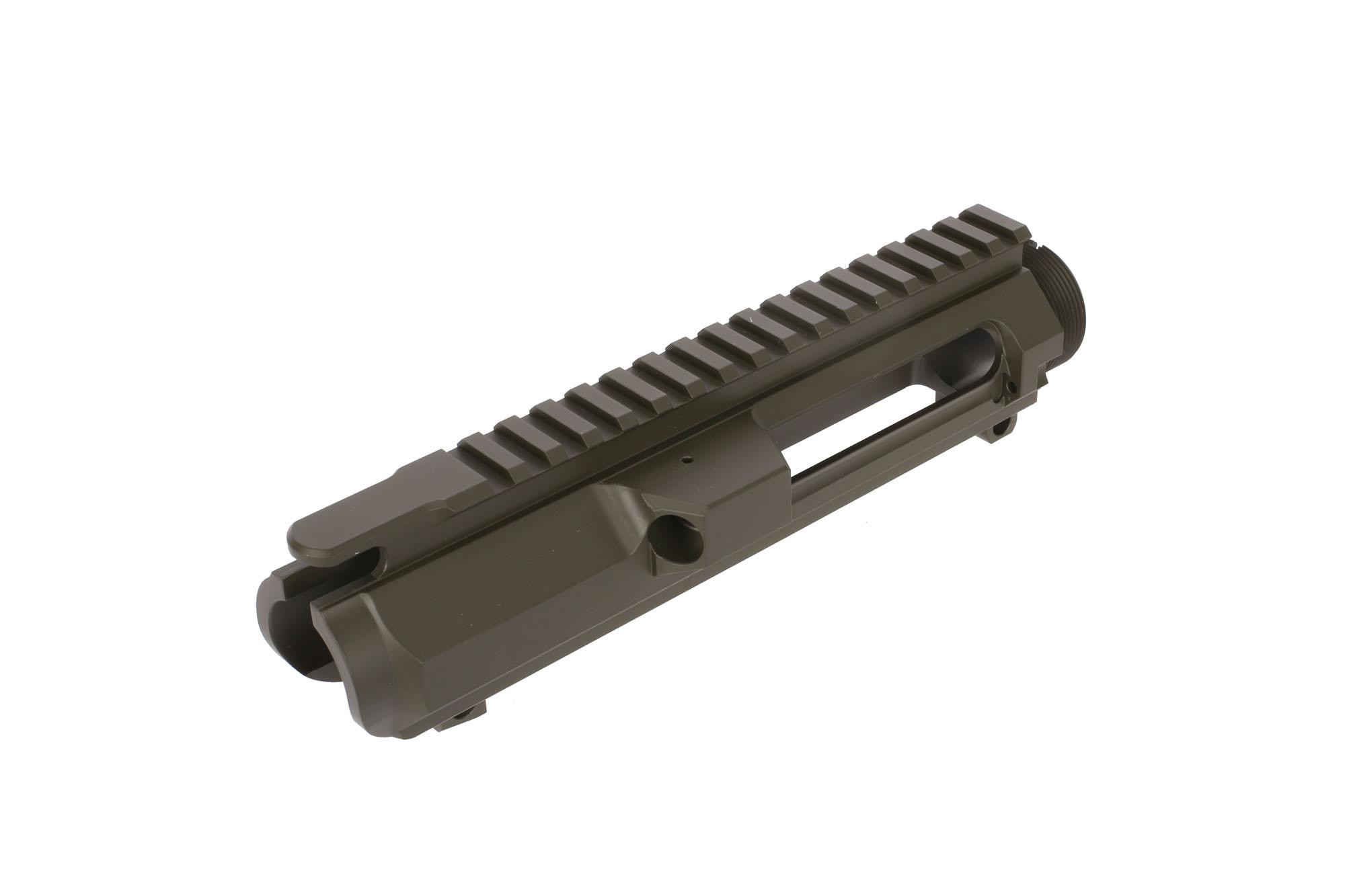 Guntec USA AR-308 Stripped Billet Upper Receiver- Olive Drab Green