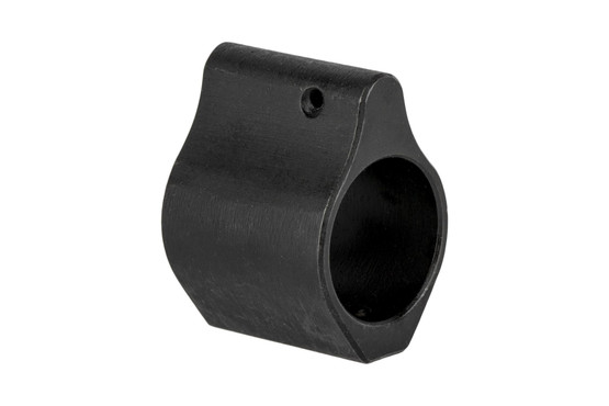 The Guntec USA AR15 low profile gas block features a .750 inch internal diameter