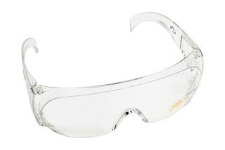 The Walkers full coverage safety glasses feature clear wraparound lenses and offer UV protection