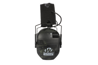 Walkers Razor Slim Electronic Hearing Muffs with HD Audio and MultiCam Black Finish